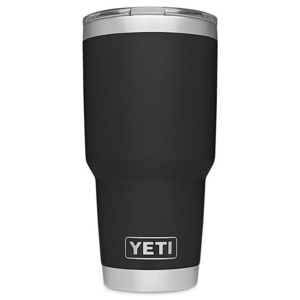 YETI Rambler 30 oz. Stainless Steel Vacuum-Insulated Tumbler with Lid - BLACK