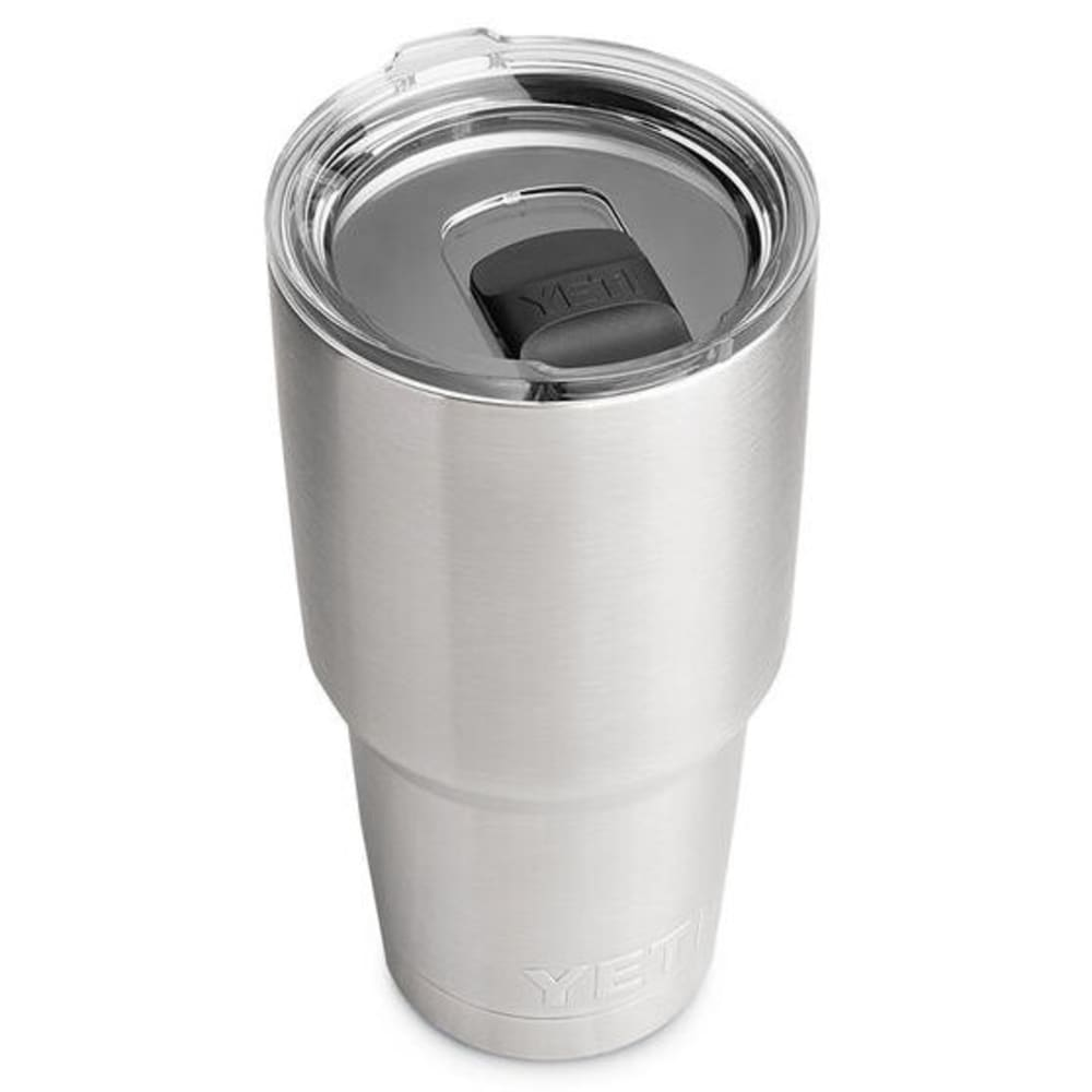 YETI Rambler 30 Stainless Steel Vacuum-Insulated Tumbler with Lid - STAINLESS