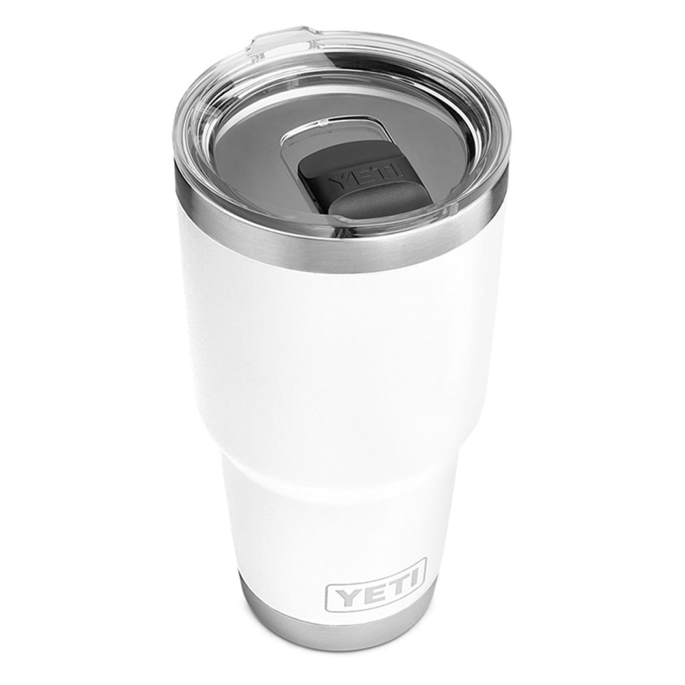 YETI Rambler 30 oz. Stainless Steel Vacuum-Insulated Tumbler with Lid - WHITE