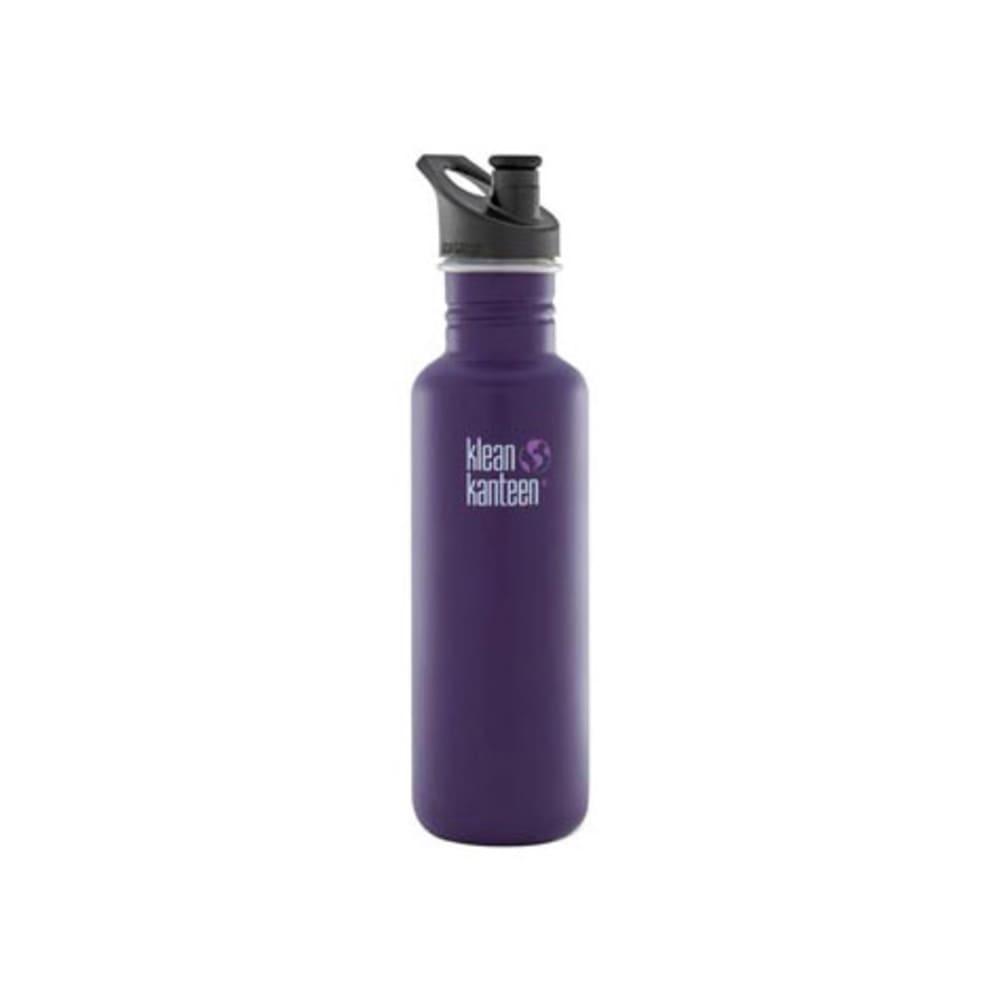 KLEAN KANTEEN Sport Cap Bottle, 27 oz - PURPLE
