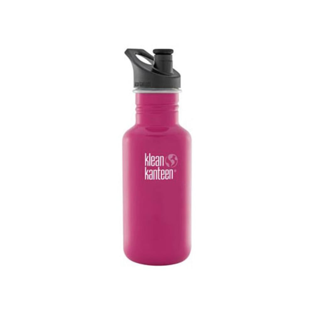 KLEAN KANTEEN Sport Cap Bottle, 18 oz. - DRAGON FRUIT PINK