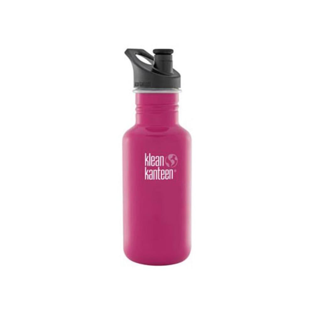 KLEAN KANTEEN Sport Cap Bottle, 18 oz. - DRAGON FRUIT PINK