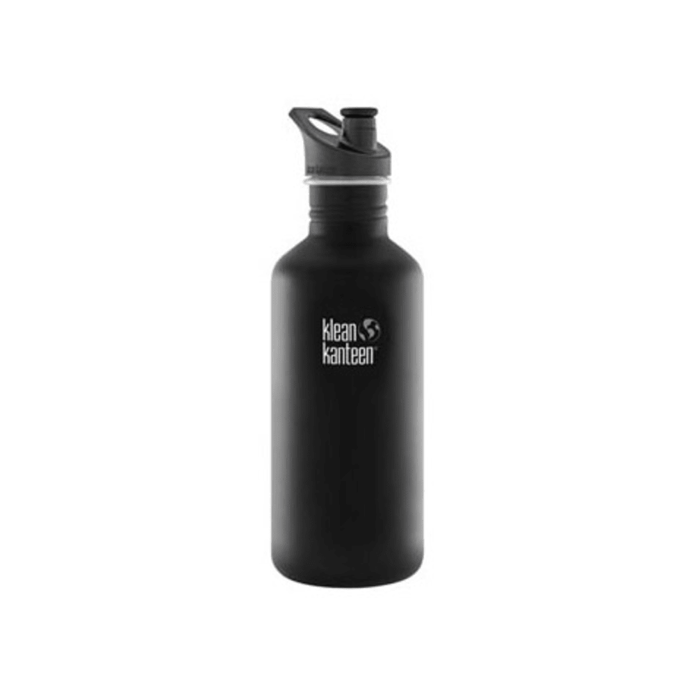 KLEAN KANTEEN Sport Cap Bottle, 40 oz. - BLACK