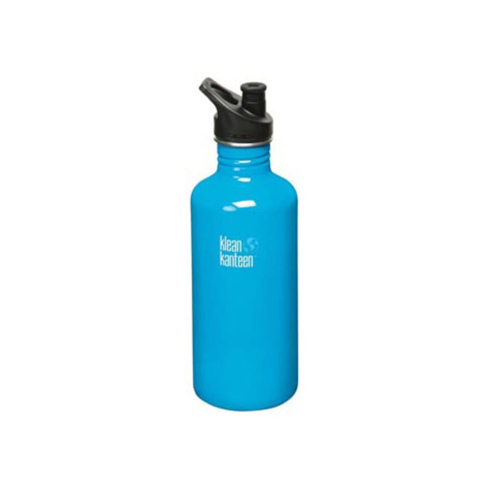 KLEAN KANTEEN Sport Cap Bottle, 40 oz. - CHANNEL ISLAND