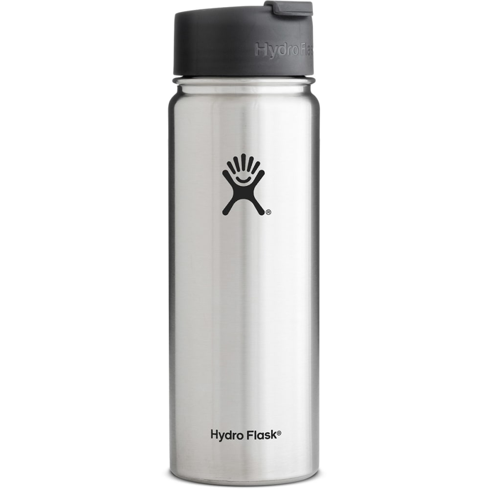 HYDRO FLASK 20 oz. Wide Mouth Water Bottle - STAINLESS/W20FP075