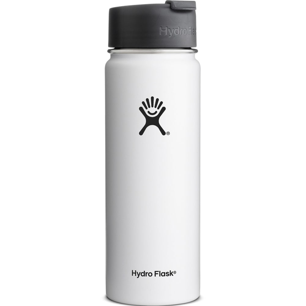 HYDRO FLASK 20 oz. Wide Mouth Water Bottle - WHITE/W20FP110