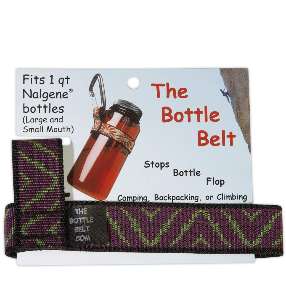 BOULDER BASED DESIGNS Bottle Belt - PURPLE