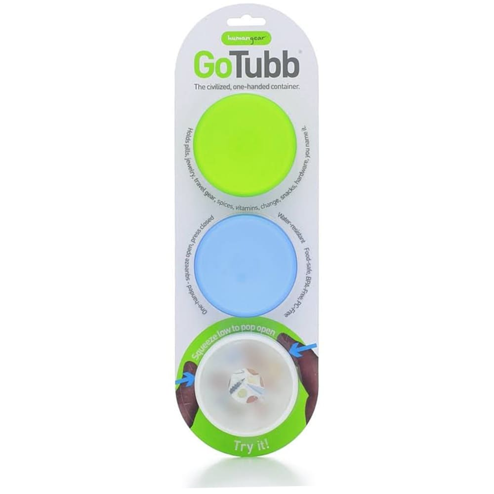 HUMAN GEAR GoTubb, 86cc - CLEAR/BLUE/GREEN