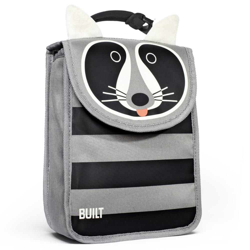 BUILTNY Big Apple Buddy Lunch Sack, Ladybug - GREY