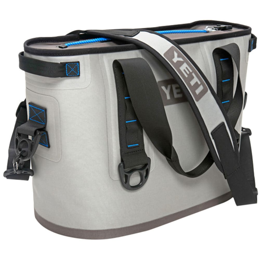 YETI Hopper 20 Soft Cooler - GRAY/BLUE/YHOP20G