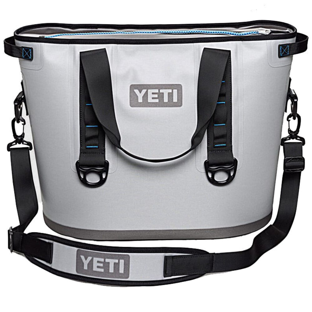 YETI Hopper 30 Soft Cooler - GRAY/BLUE/YHOP30G