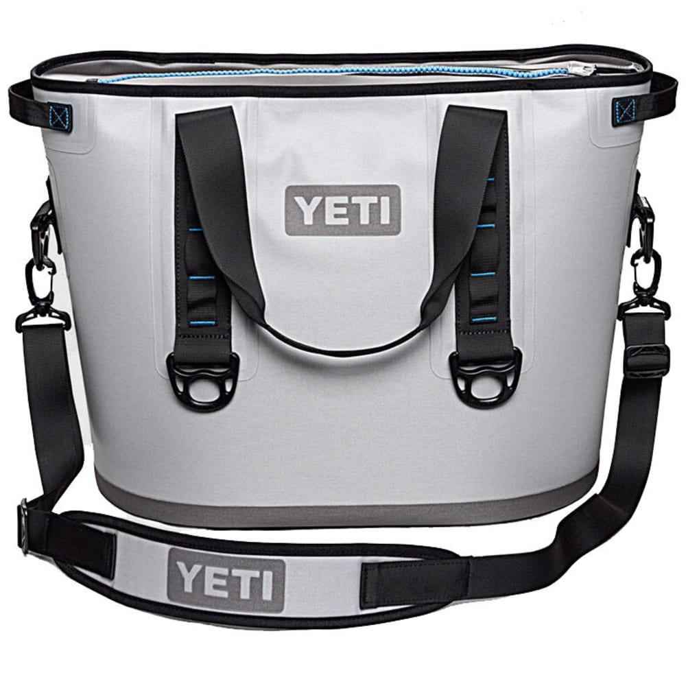 YETI Hopper 30 Soft Cooler - GRAY/BLUE/YHOP30G