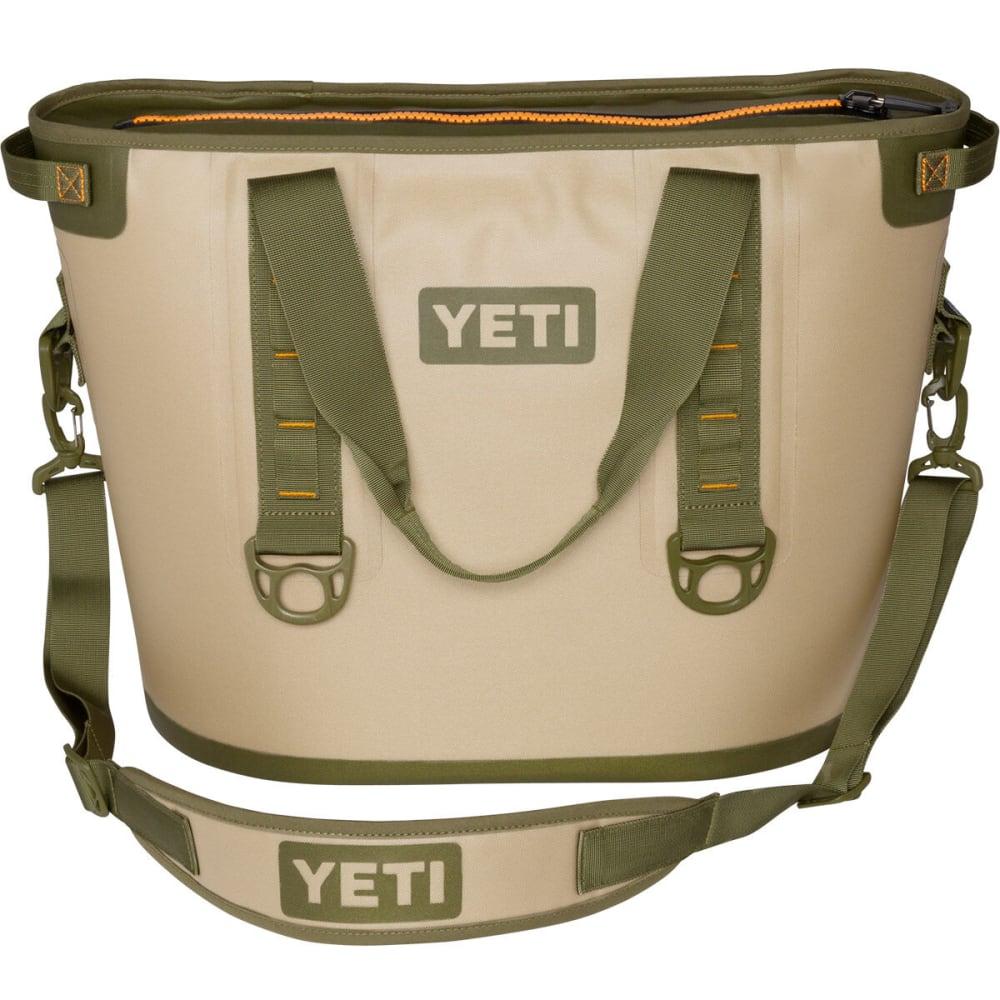 YETI Hopper 30 Soft Cooler - TAN/ORANGE/YHOP30T