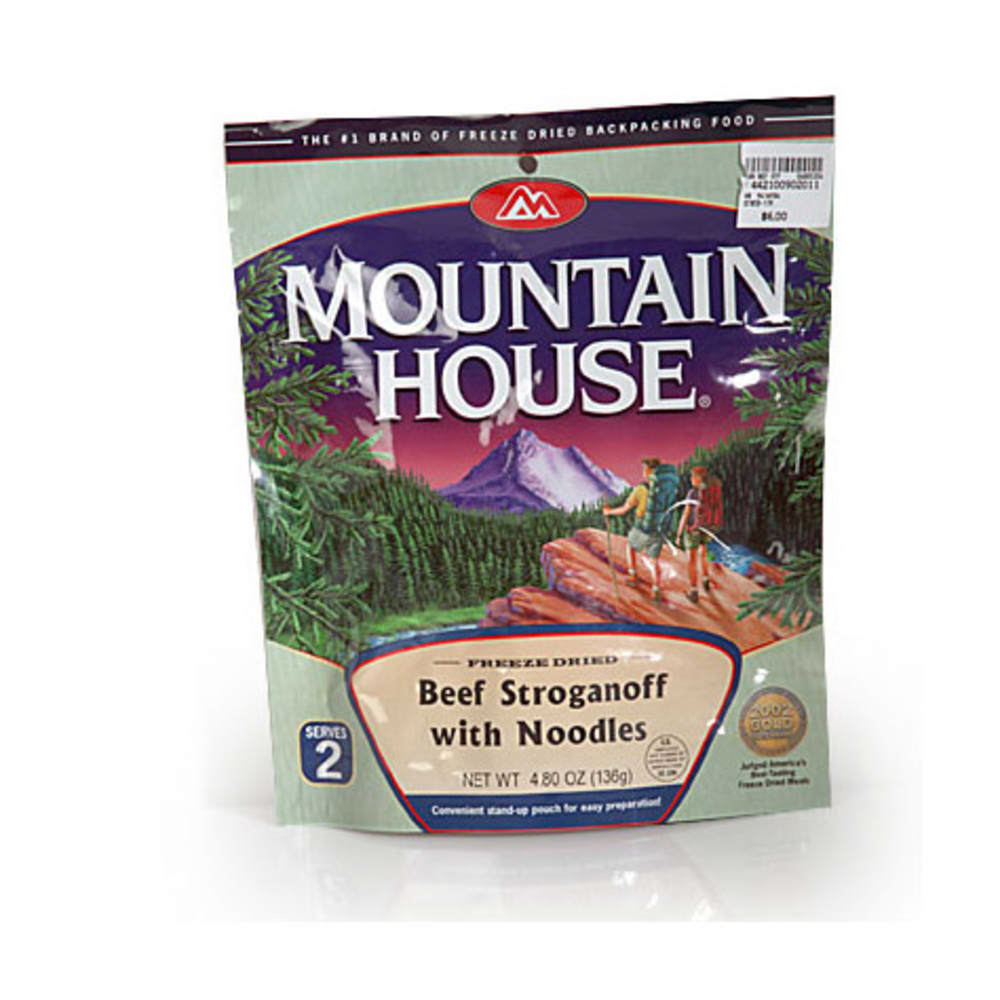 MOUNTAIN HOUSE Beef Stroganoff with Noodles - NONE