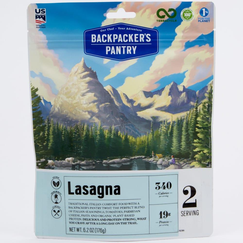 BACKPACKER'S PANTRY Vegetarian Lasagna - NONE