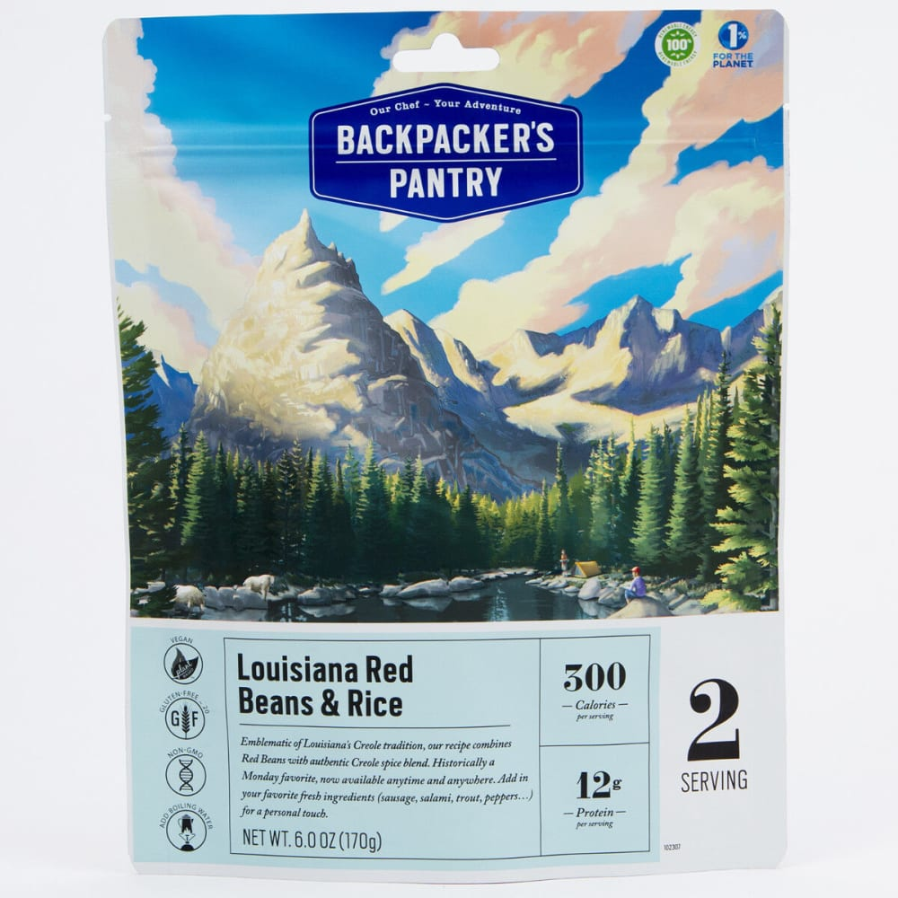 BACKPACKER'S PANTRY Louisiana Beans and Rice - NONE