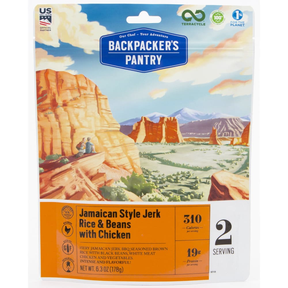 BACKPACKER'S PANTRY Jamaican BBQ Chicken - NONE