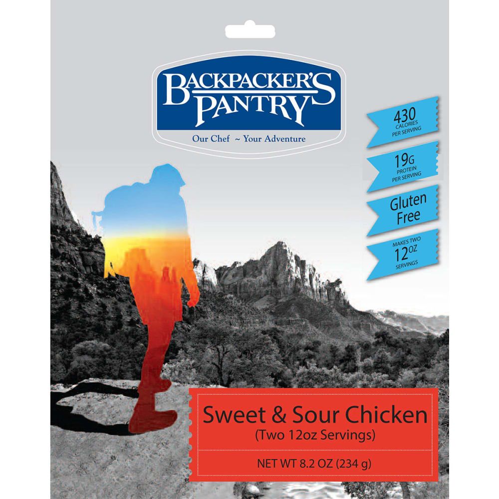 BACKPACKER'S PANTRY Sweet and Sour Chicken - NONE