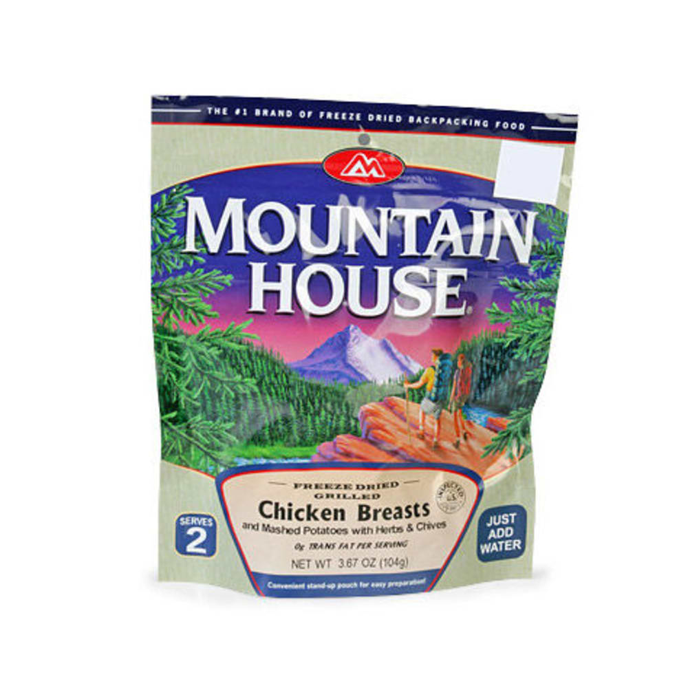 MOUNTAIN HOUSE Grilled Chicken Breasts and Mashed Potatoes w - NONE