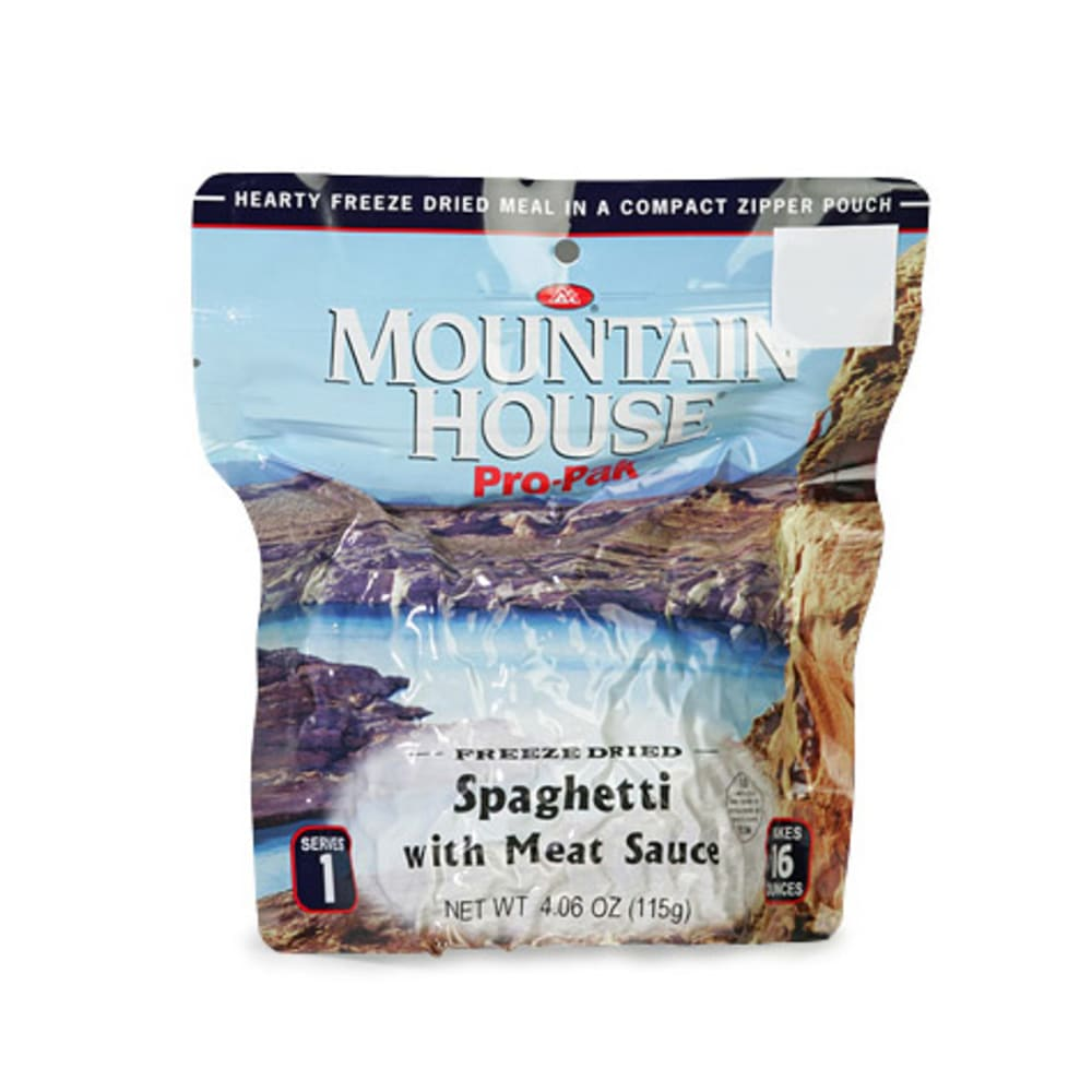 MOUNTAIN HOUSE Spaghetti with Meat - NONE