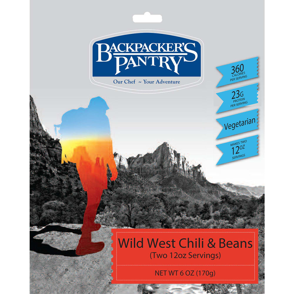 BACKPACKER'S PANTRY Wild West Chili and Beans - NONE
