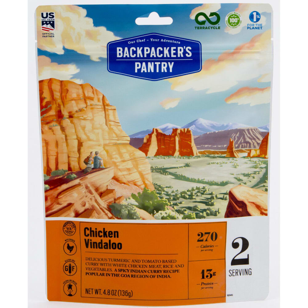 BACKPACKER'S PANTRY Chicken Vindaloo - NONE