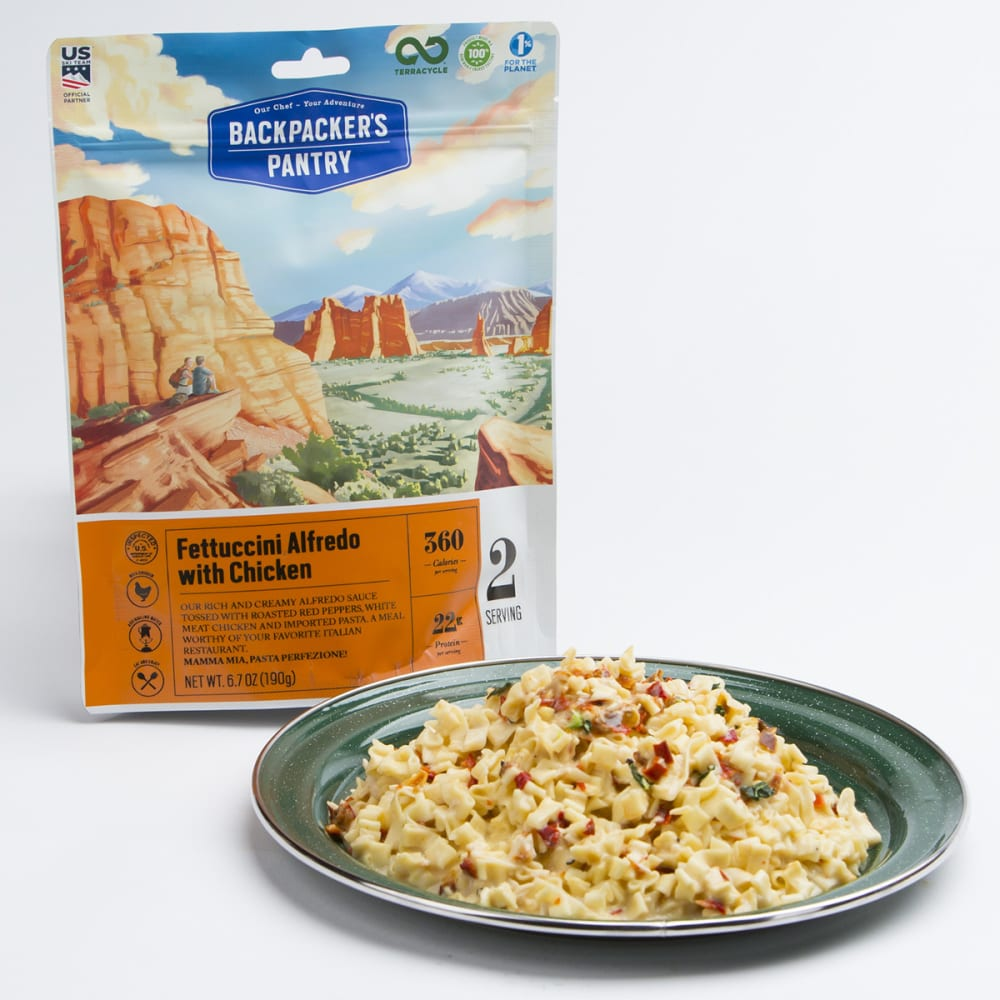 BACKPACKER'S PANTRY Fettuccini and Chicken - NONE