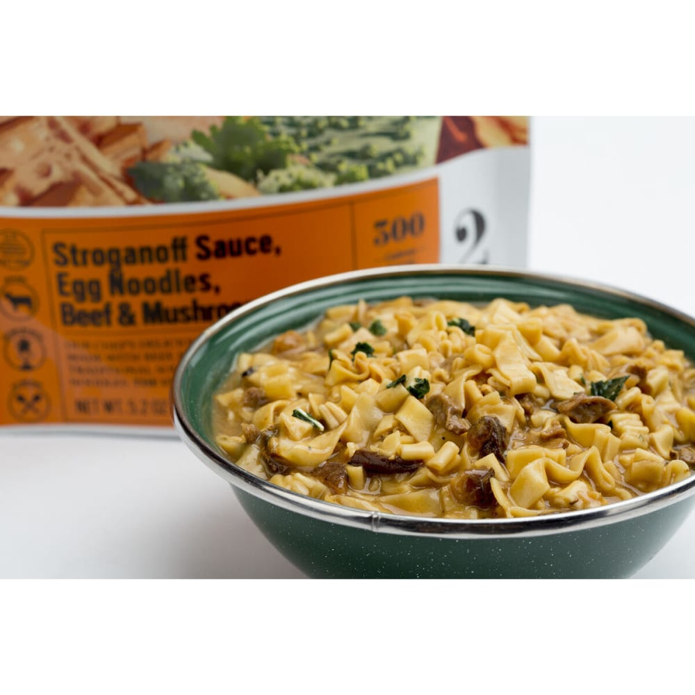 BACKPACKER'S PANTRY Beef Stroganoff With Wild Mushrooms, 2 Servings - NONE