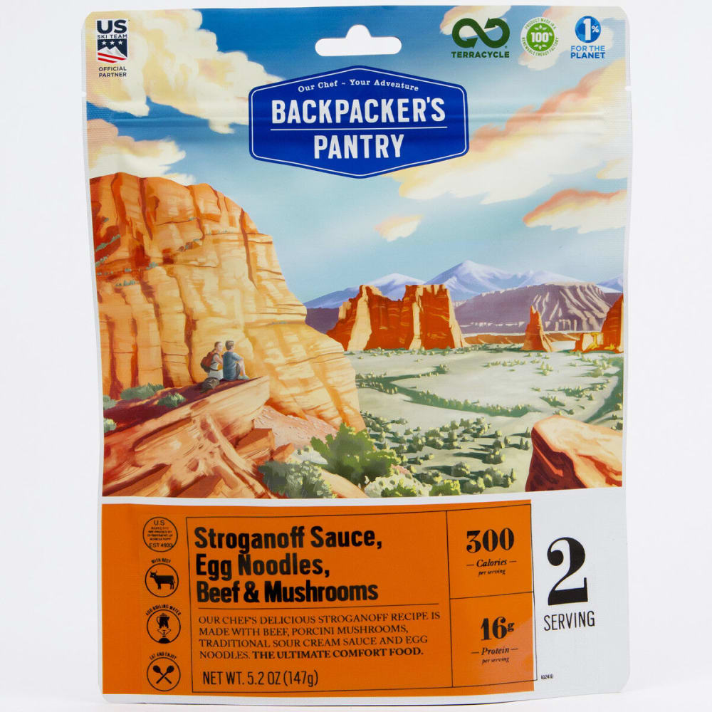 BACKPACKER'S PANTRY Beef Stroganoff With Wild Mushrooms, 2 Servings - NONE