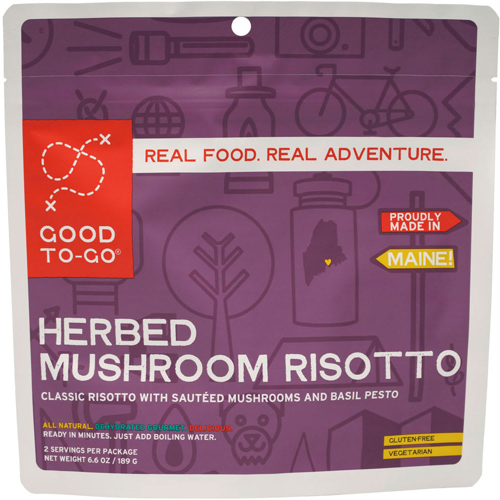 GOOD TO-GO Herbed Mushroom Risotto - NONE