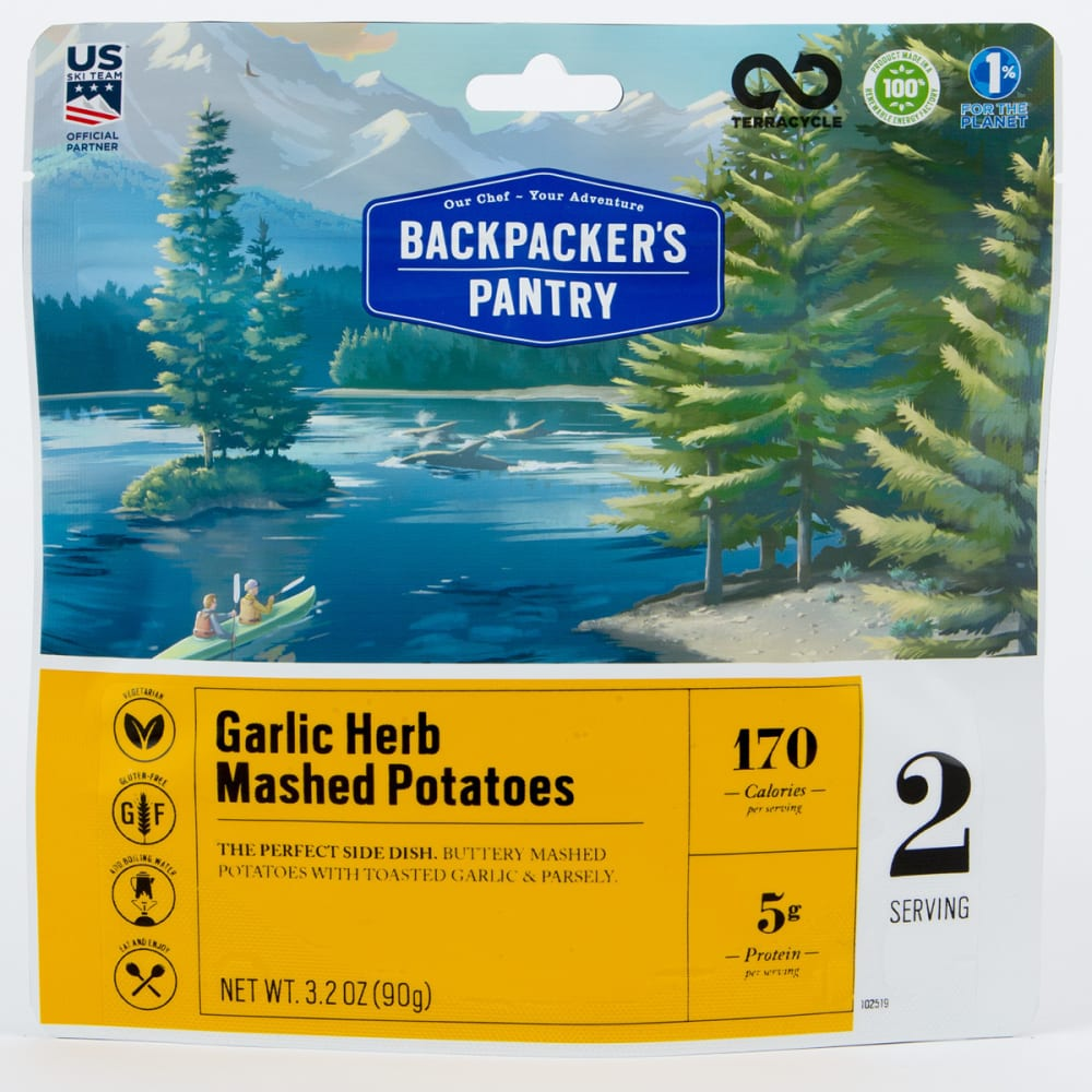 BACKPACKER'S PANTRY Garlic Mashed Potatoes - NONE