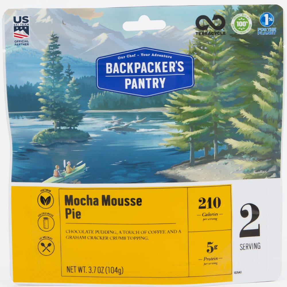 BACKPACKER'S PANTRY Mocha Mousse Pie - NONE