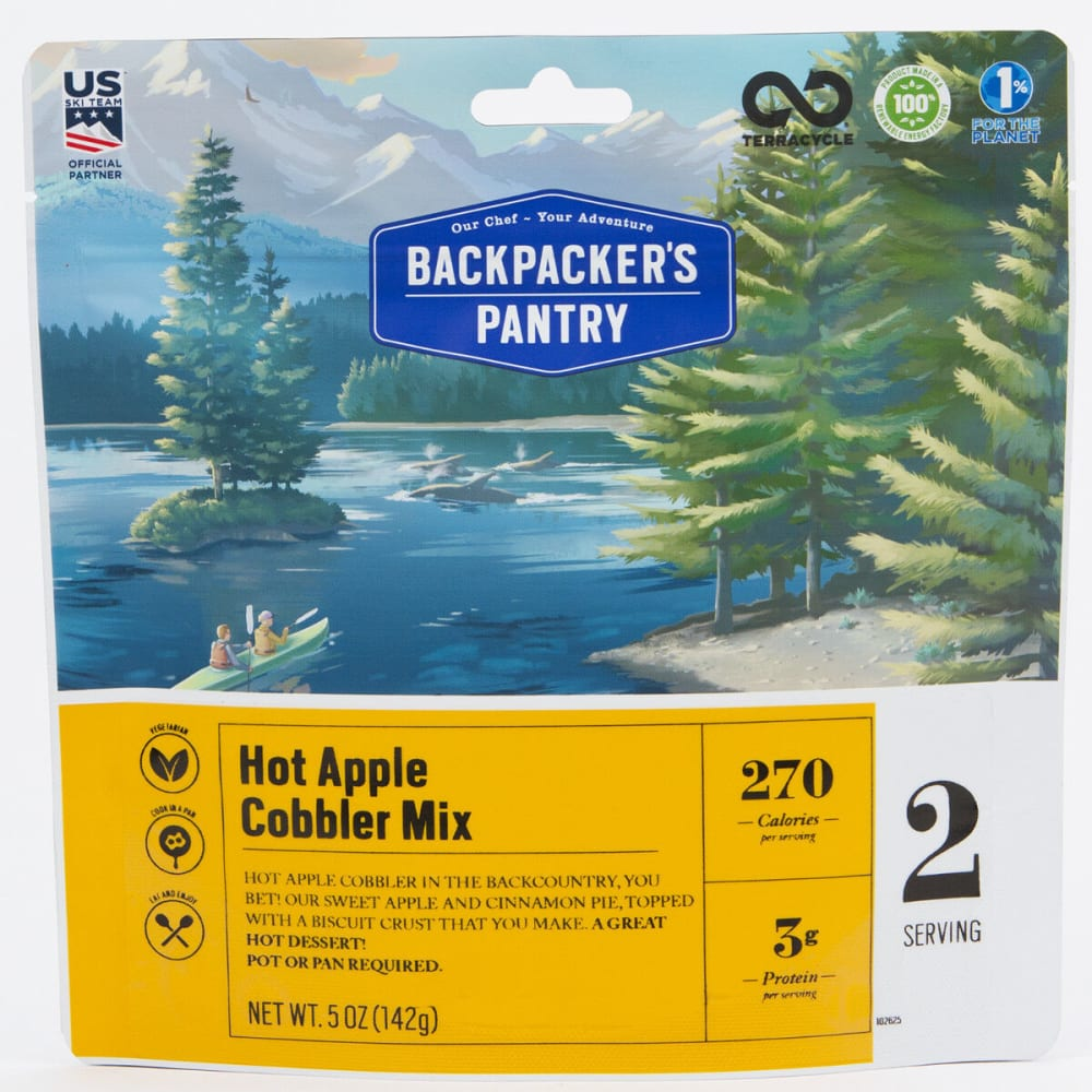 BACKPACKER'S PANTRY Hot Apple Cobbler - NONE