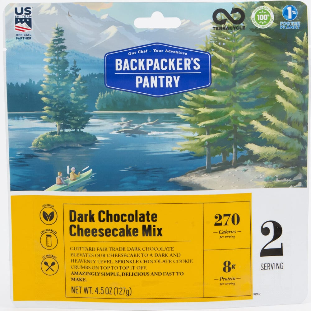 BACKPACKER'S PANTRY Dark Chocolate Cheesecake - NONE