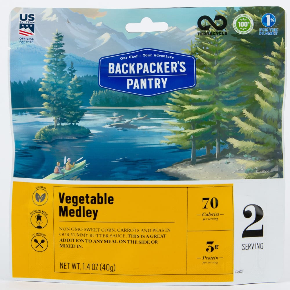 BACKPACKER'S PANTRY Vegetable Medley - NONE