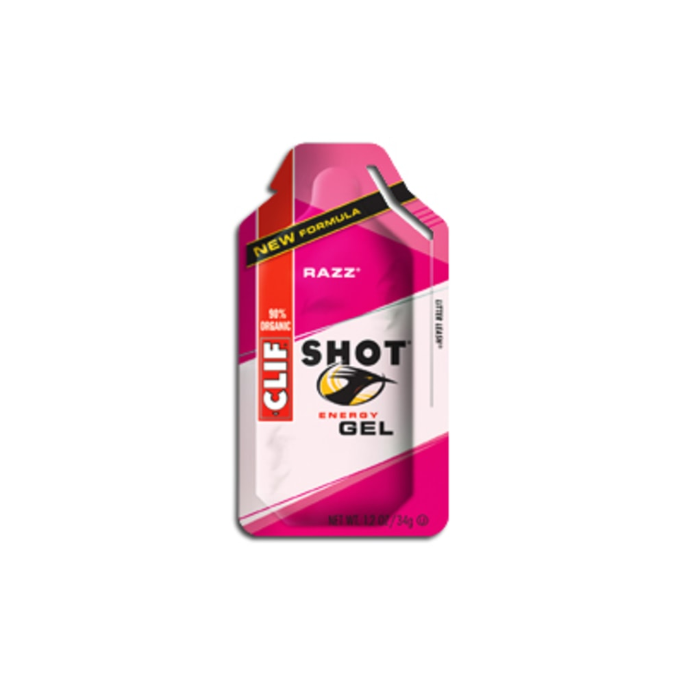 CLIF Shot Gels, Various Flavors - RAZZ