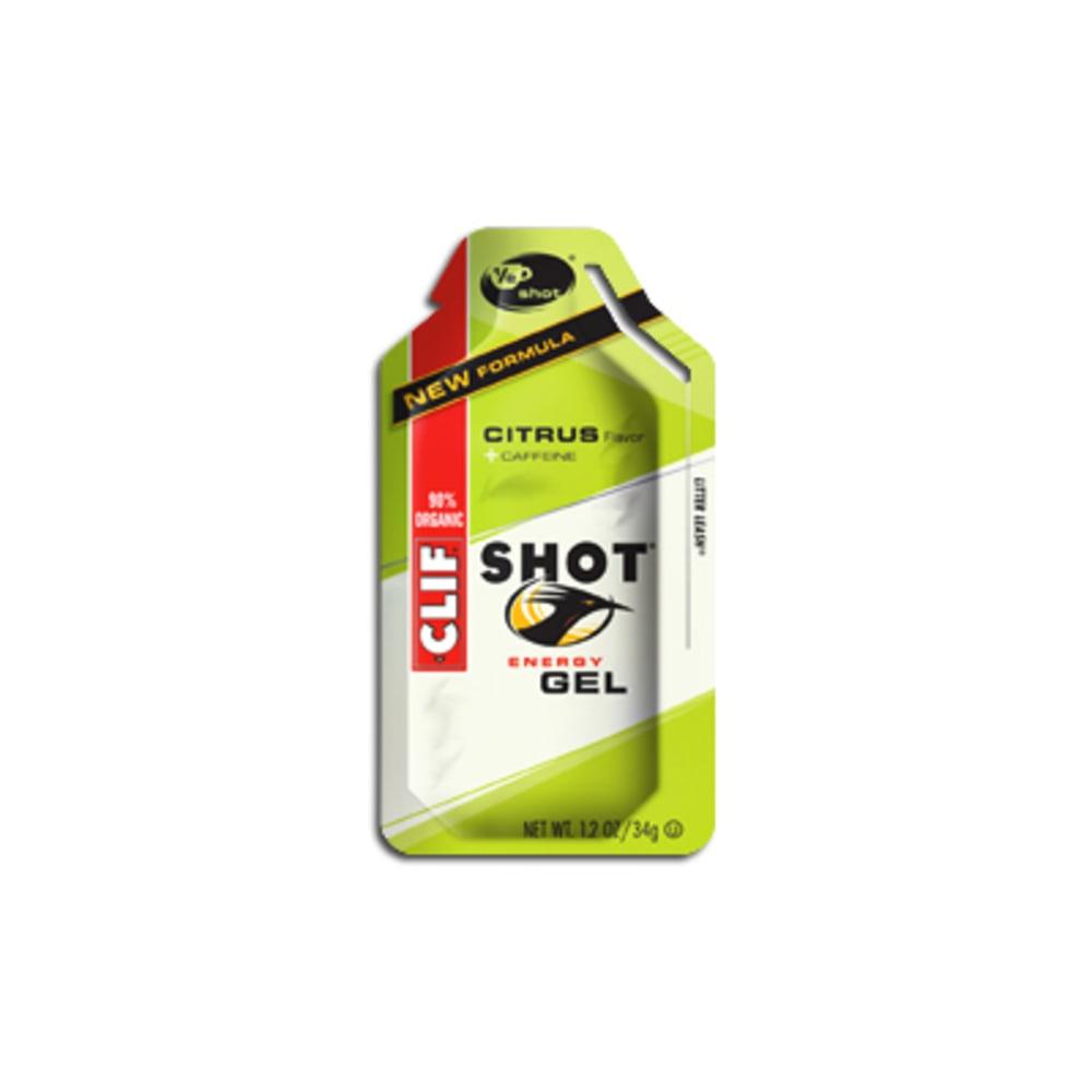 CLIF Shot Gels, Various Flavors - CITRUS