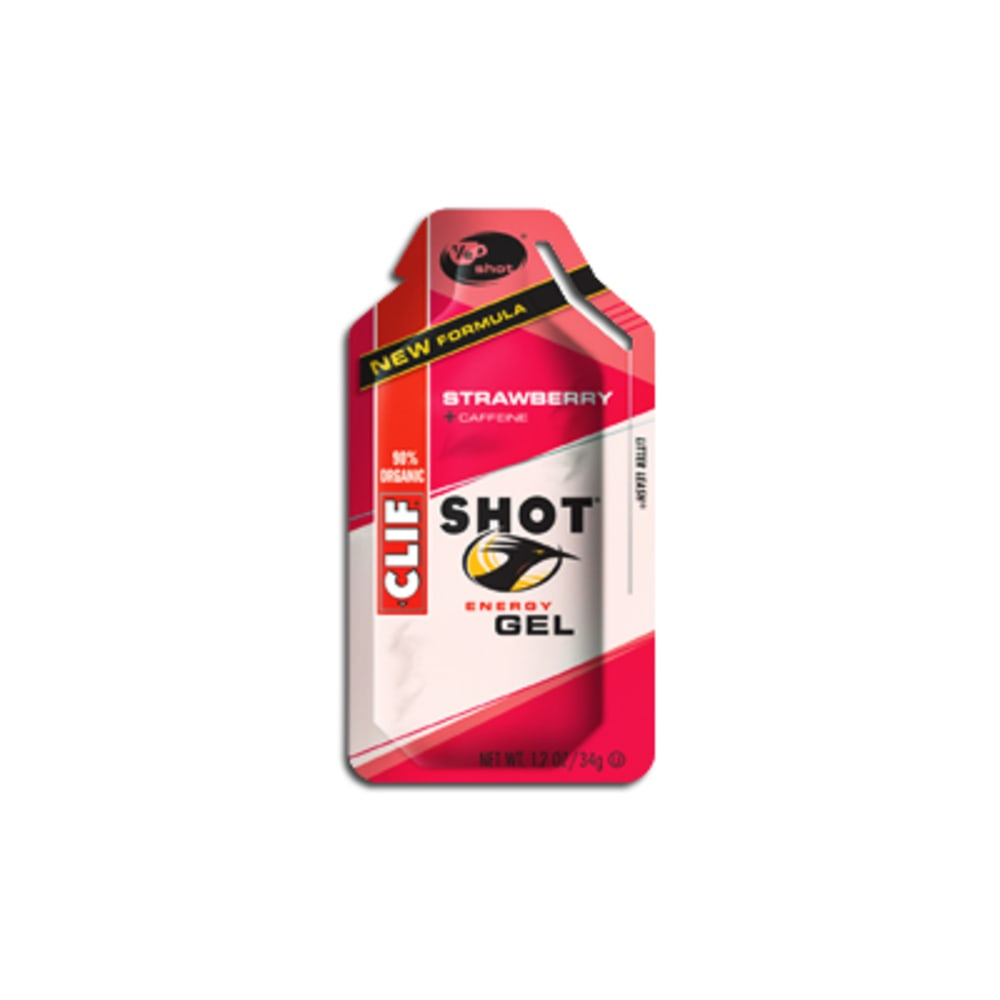 CLIF Shot Gels, Various Flavors - STRAWBERRY