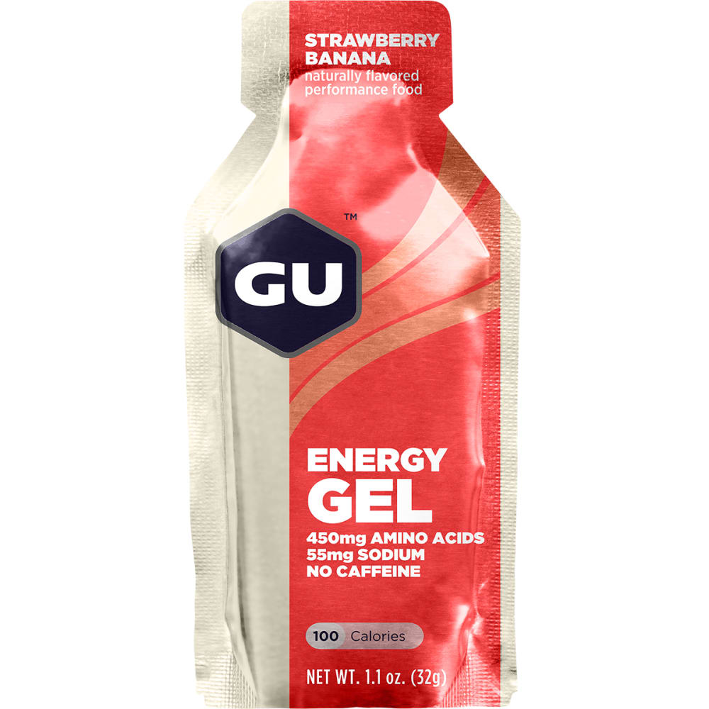 GU 1.1 oz. Energy Gel - STRAWBERRY BAN SGL