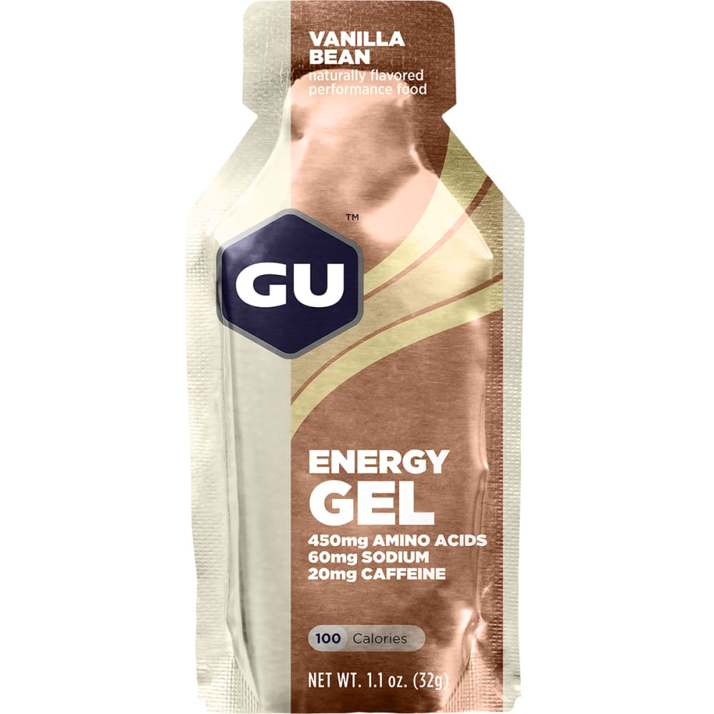 GU 1.1 oz. Energy Gel - VANILLA BEAN SGL