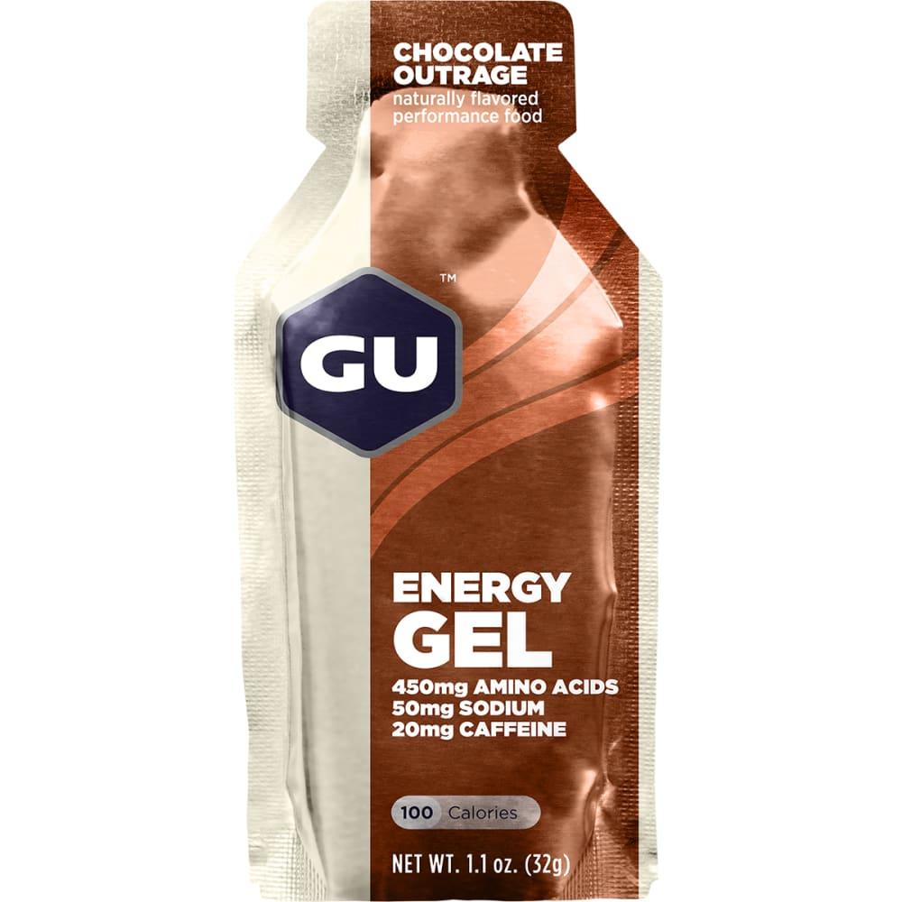 GU 1.1 oz. Energy Gel - CHOC OUTRAGE SGL