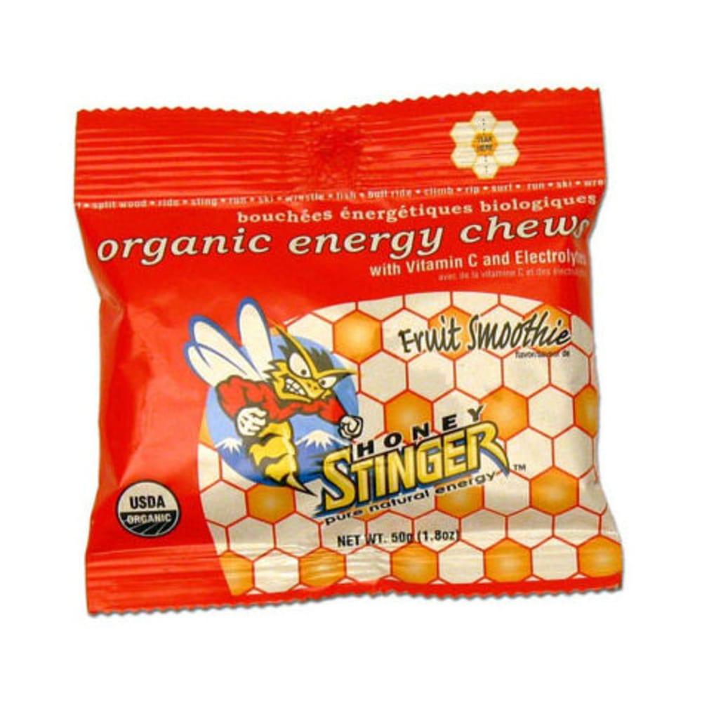 HONEY STINGER Fruit Smoothie Chews, Box of 12 - FRUIT SMOOTHIE