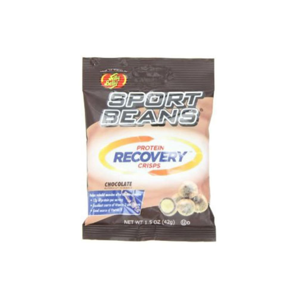 JELLY BELLY Sport Beans Protein Recovery Crisps, Chocolate - CHOCOLATE