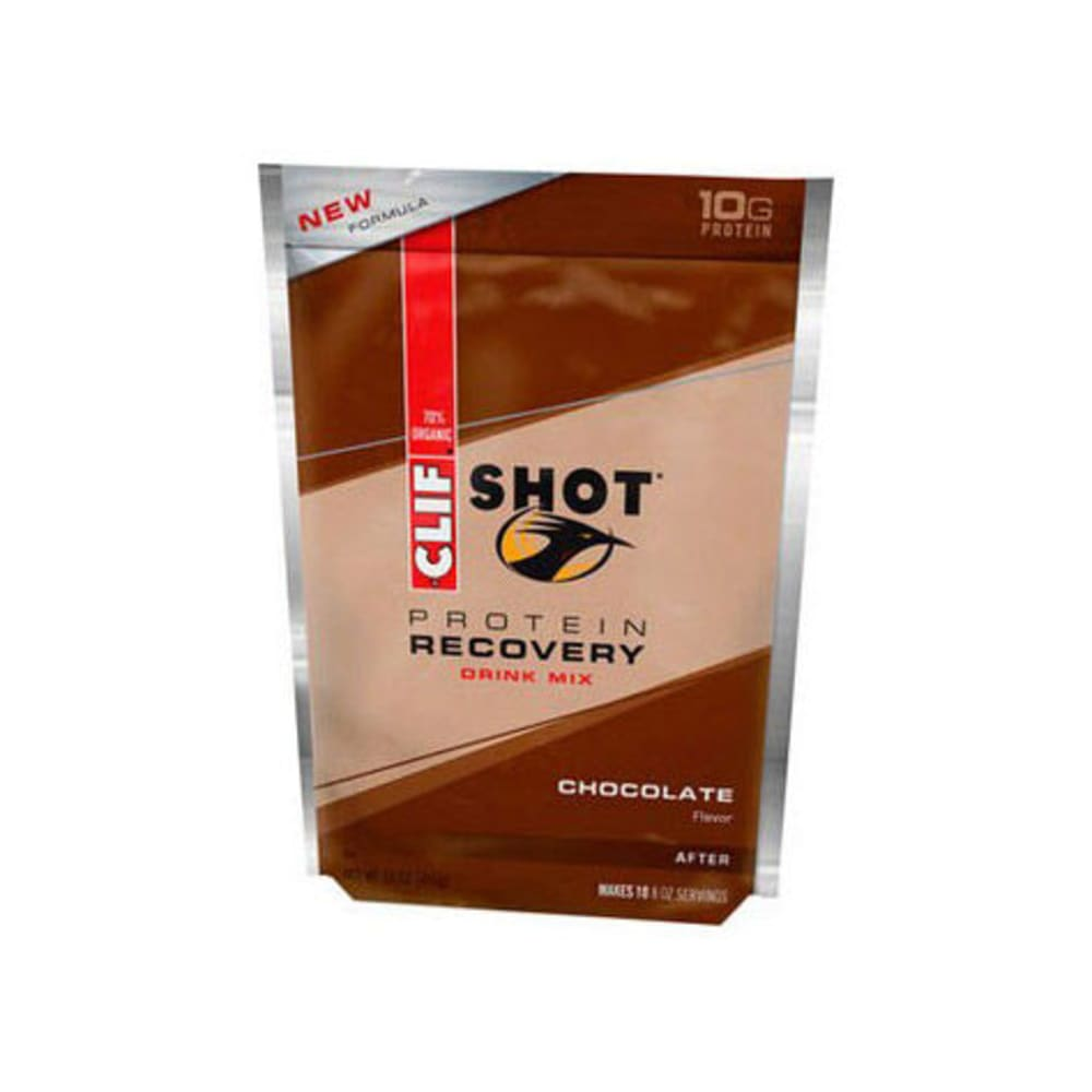 CLIF Shot Protein Recovery Pouch, Chocolate - CHOCOLATE