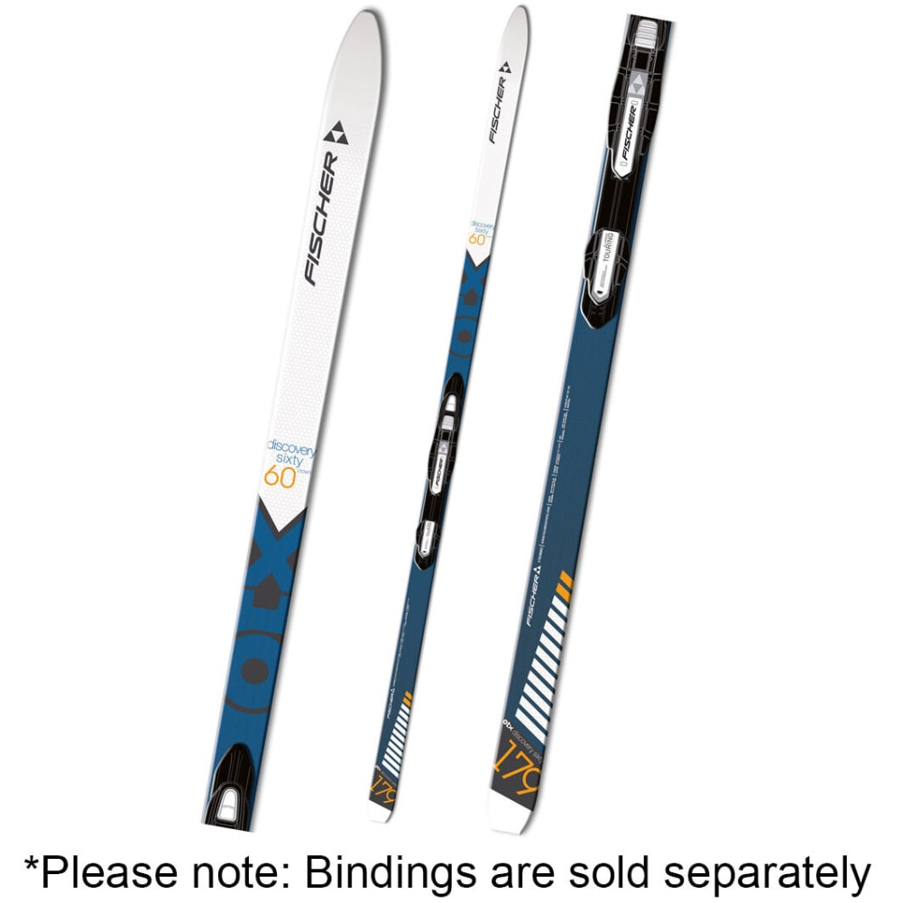 FISCHER Discovery 60 Crown Waxless NIS Skis - NONE