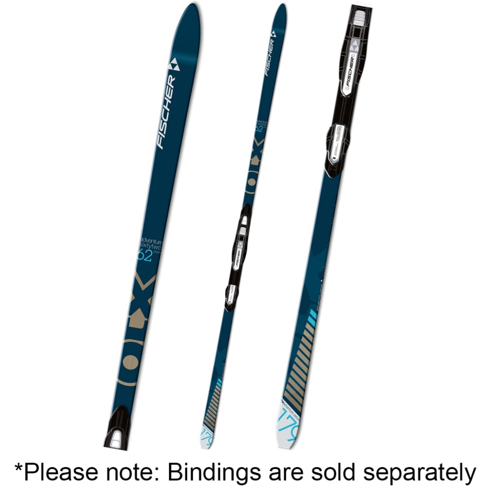 FISCHER Adventure 62 Crown NIS Skis - NONE
