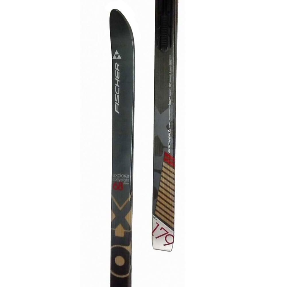 FISCHER Explorer 68 Crown NIS Skis - NONE