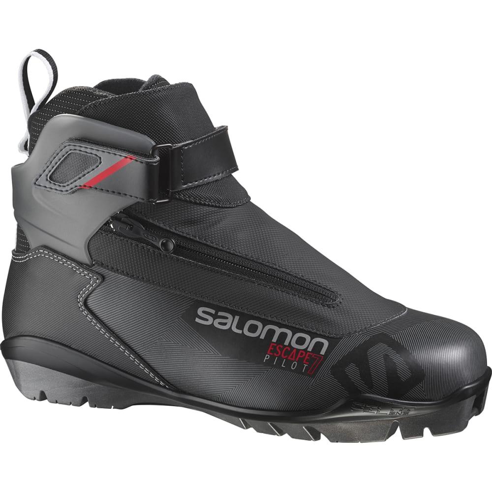 SALOMON Men's Escape 7 Pilot CF Boots - BLACK RED