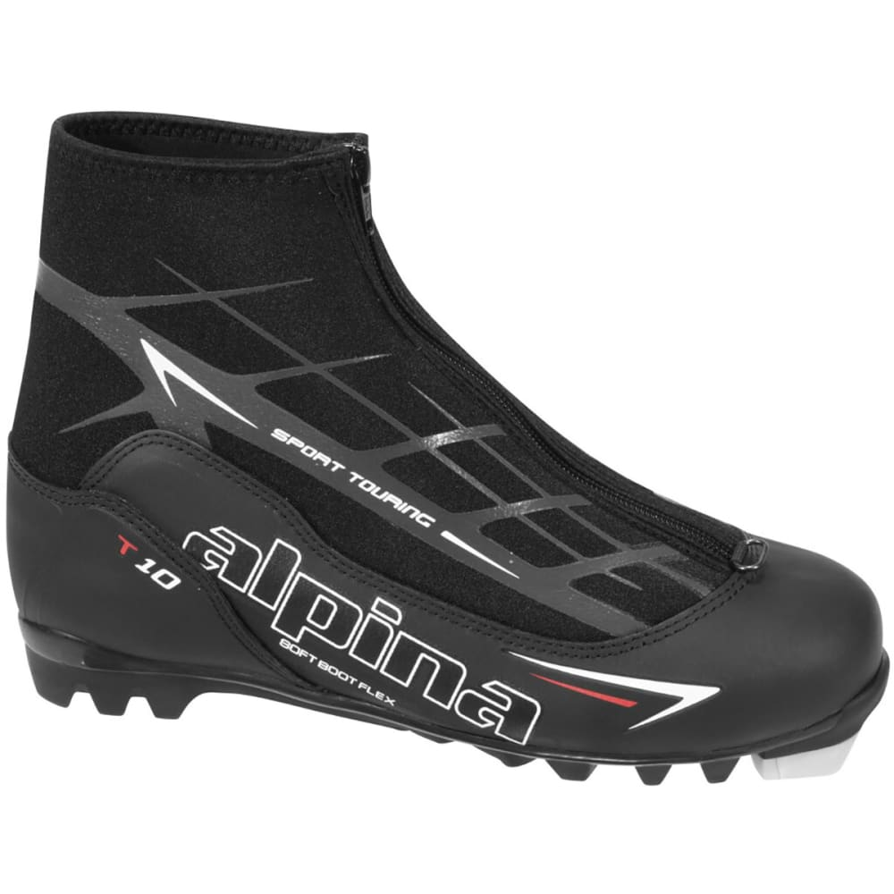 ALPINA T10 Tour Ski Boots - BLACK/RED