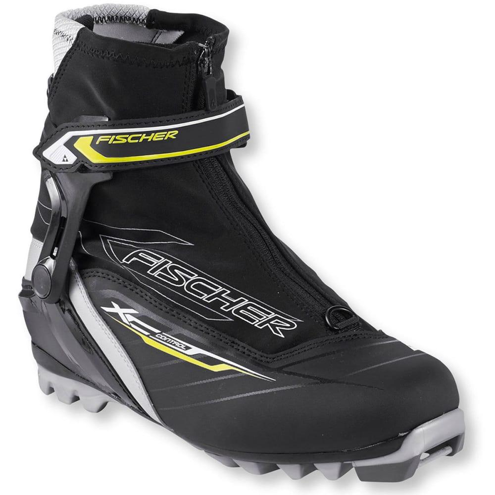 FISCHER Men's XC Control Nordic Ski Boots - BLACK